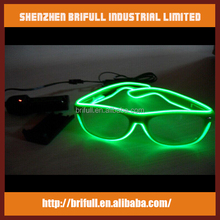 Hot selling led falshing dance led glasses for party