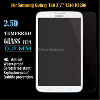 OEM/ODM For Mobile Phone 7 inch tablet screen protector tempered glass / 0.26mm 2.5D 9H tempered glass screen protector