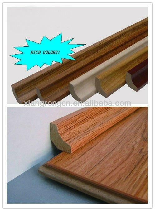 Mdf Wood Flooring : Mdf scotia concave line used for wood flooring