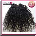 ali 2014 qingdao expresar al por mayor precio de fábrica de la india 18 pulgadas kinky afro armadura del pelo humano