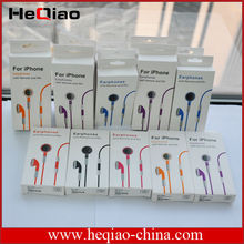 Original Earphone with Volume Control For iPhone 4 with Retail Package