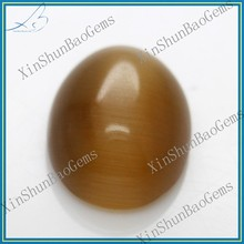 Alibaba China Oval Cut Lab Created Brown cat eyes