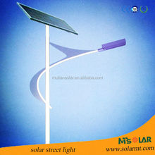 led solar street lighting with solar panel from Yingli Brand