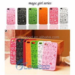 Hard Plastic Customized Phone Case,Small Magic Fairy Back Case Cover For IPhone 5