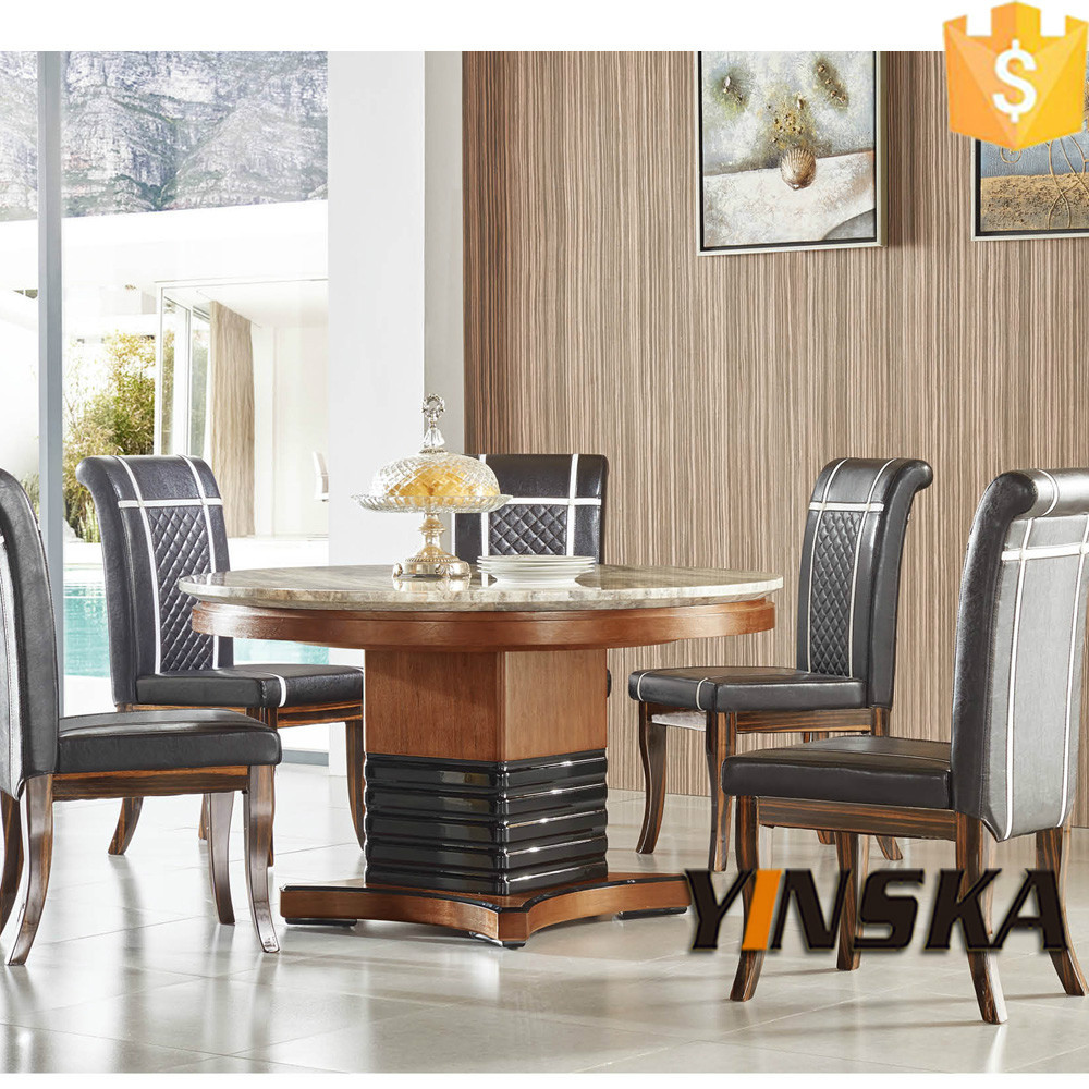 Dubai Solid Elegant Wooden Modern Round Dining Table Buy