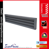 Different types of aluminium louvre window comply with AS2047 Australia standard