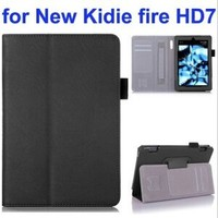 Multifunctional Flip Leather Cover for New Kindle Fire HD 7 with Filco