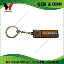 Gold plated enamel high quality pvc motorcross motorcycle keychain