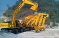 excavador de fuerte potencia con motor de 50 Ling importado