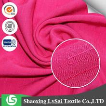 2015 HOT 100%Rayon Slub Yarn Fabric For Women Dress