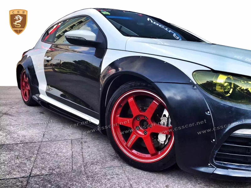 Vw Car Accessories Body Kits For Scirocco R To Wide Auto Body Kit ...