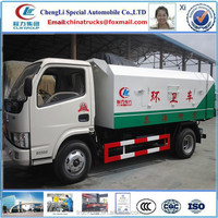 4x2 LHD dongfeng FRK waste collector mini sealed garbage truck for sale