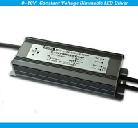 100w 0-10v led dimmer 24v 0-10v constant voltage dimmable led driver with high PFC >0.98