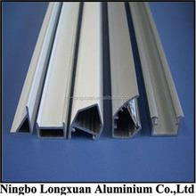 factory made 6063 square/triangle aluminum extrusion profile
