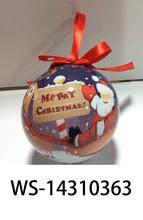 Wholesale 6 Lamp Flashing LED Light Outdoor Ornaments Bulk Plastic Christmas Balls