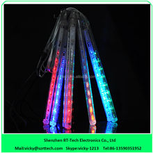SMD3528 double sides 60cm led meteor rain light for tree decoration