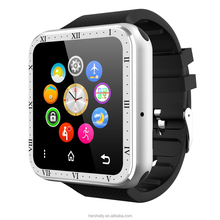 Black Reloj Intelligente Android Smart Watch Phone FM SIM Wearable Devices Music Reloj Telefono