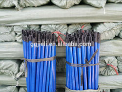Multifunctional round plastic covered broom handle with CE certificate