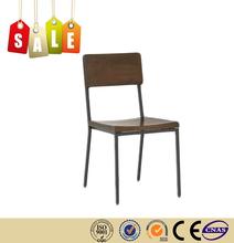 restoran sandalye dökme demir masif ahşap açık çelik sandalye satış