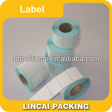 Direct manufacture roll packed permanent adhesive label sticker,laminated bopp/PVC/PE/PP printing label
