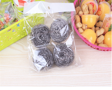 Good Quality Steel Wool Scrubber/Scourer, Stainless Steel Pot Scrubber/Scourer