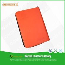 Bowen Brand coustom PU/PVC/leather hardcover leather foder/portfolio/case/bag