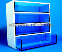 multi acrylic drawer chest