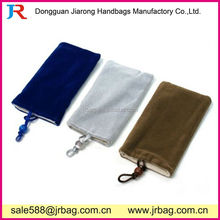 Anti-shock Protection Teenagers Flannel Phone Bags