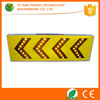 Road construction safety portable yellow flashing solar led traffic sign arrow