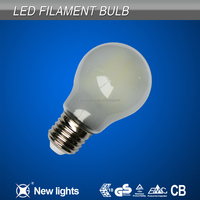 Vintage glass cover e26 led filament bulb A55 6w