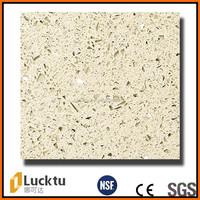 Starlight black color artificial quartz stone for countertop Vanity top