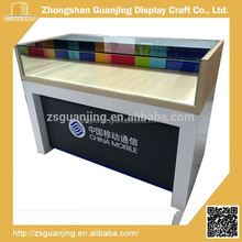 Latest fashion design top quality glass store mobile phone display