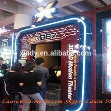 Cabinas simuladoras en 3D, 4D, 5D, 6D y 7D