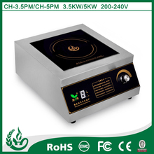 high quality single head cookware of induction stove