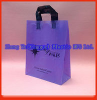 Flat Tape Handle Plastic Carrier Bags