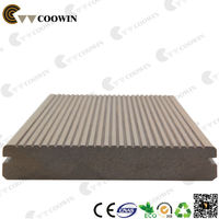 Fire Resistant Extruded Wood Plastic Composite Decking