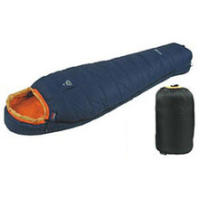 -15 degree duck down mummy camping sleeping bag