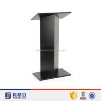 china wholesale transparent cheap acrylic lectern portable lectern