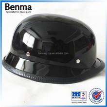 china manufacturer sale simple black security dirt bike helmet