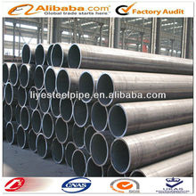 Q345C hollow low alloy hot rolled cold formed black welded steel pipe