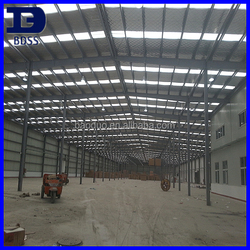 ISO9001 construction design prefabricated steel building