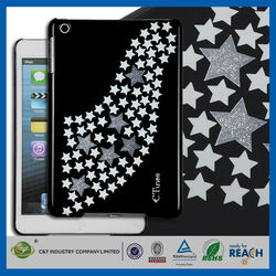 C&T Bling Glitter Stars New PC Mobile Phone Case For Ipad Pro