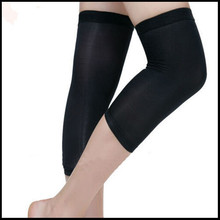 Adjustable Strap Elastic Patella Sports Support Brace Black Copper Knee as seen on tv