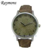 2015 Jean style quartz top selling custom brand watch