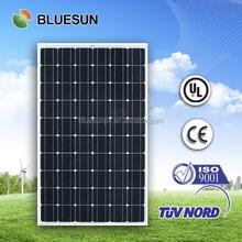 Bluesun CSA listed monocrystalline solar panel price india
