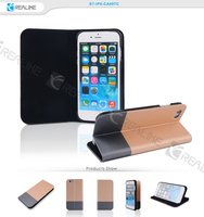 New Stylish magnetic flip slim pu leather case for iphone 6s