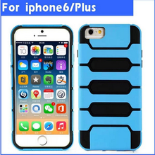 PC + silicon hybrid mobile phone case for iphone6 6s,for iphone 6 6s mobile phone case accessories