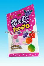 snack packaging bag/ecofriendly plastic packaging bag for snack packing