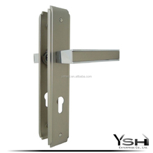 fancy and italy style door handles and locks set