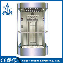 Building Display Glass Elevators Manufactures In China